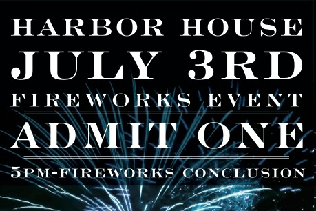Fireworks Dinner at Harbor House