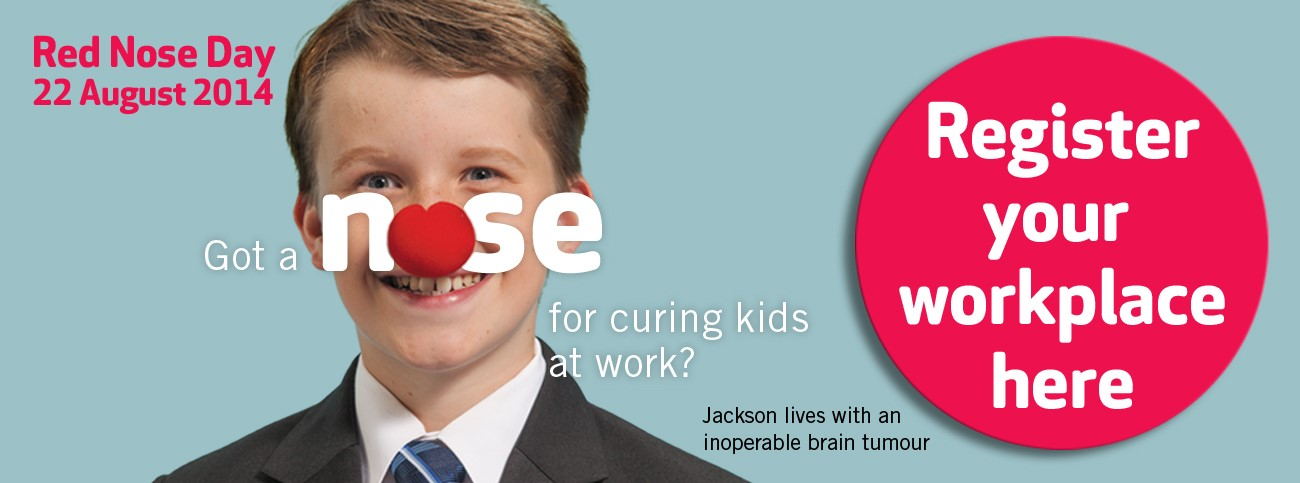 Get your workplace on board for Red Nose Day!