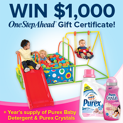 Give your baby a fresh start with Purex® & One Step Ahead® Giveaway