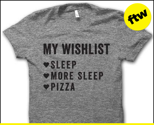 Great wishlist.