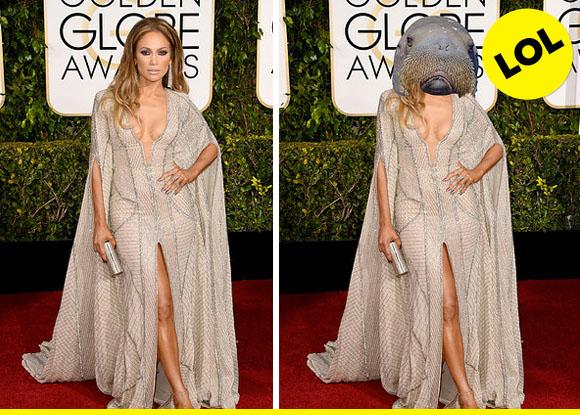 J-Lo, or Sassy Walrus?
