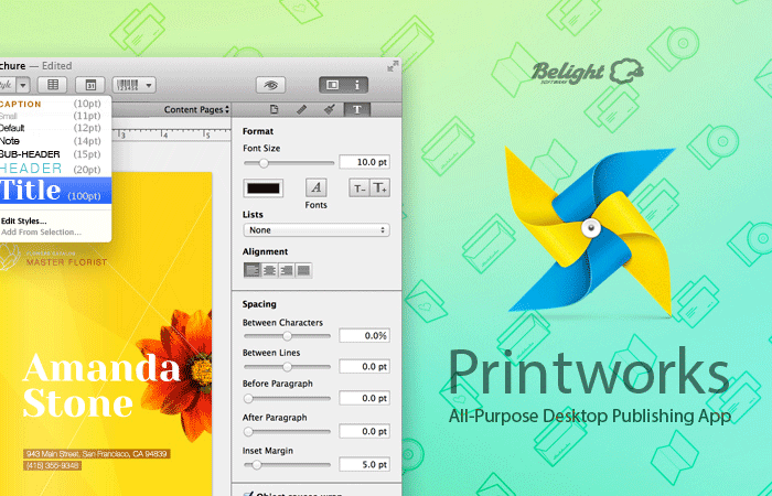 Realmac Recommends Printworks from BeLight