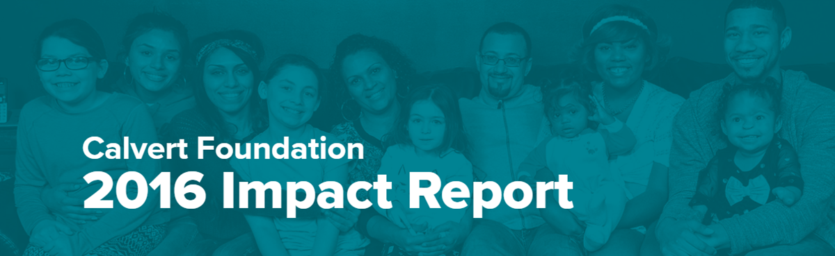 Our 2016 Impact Report